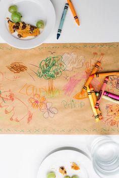Crayon & Craft Paper Runner
