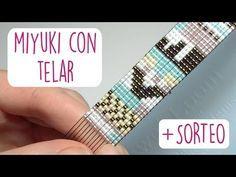 DIY BRAZALETE MIYUKI CON TELAR + SORTEO ♥ Qué cositas - YouTube
