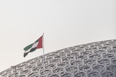 Image 1 of 45 from gallery of Jean Nouvel's Louvre Abu Dhabi Photographed by Laurian Ghinitoiu. Photograph by Laurian Ghinitoiu Louvre Abu Dhabi, Jean Nouvel, United Arab Emirates, Museum, Gallery, Building, Architects, Roof Rack, Buildings