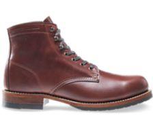 Evans Boot, Dark Brown Leather