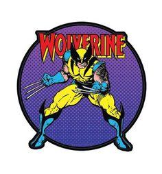 Wolverine Logo Stance Sticker
