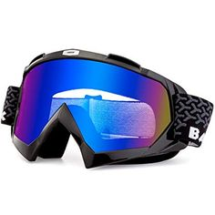cc2c33de0719 BATFOX Motorcycle Goggles Dirt Bike ATV Motocross Safety ATV Tactical  Riding Motorbike Glasses Goggles for Men