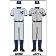 Yankees Classic Uniforms.  #yankees