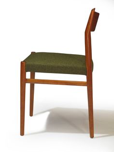 Six Arne Vodder Danish Teak Dining Chairs   From a unique collection of antique and modern dining room chairs at https://www.1stdibs.com/furniture/seating/dining-room-chairs/