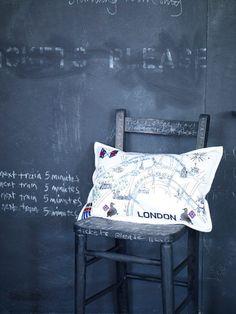Lovely pillow (via London calling)