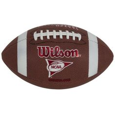 NEW Wilson Red Zone Official Football Top Quality NFL Leather Sports Game Ncaa