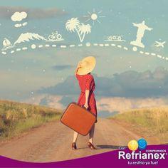 ¡Feliz fin de semana largo! Un tiempo ideal para viajar a algún lugar de nuestro hermoso país...¡tú decides donde! Con Refrianex Comprimidos Día y Noche ¡tu resfrío ya fue! #Refrianex #SaludyBienestarBagó
