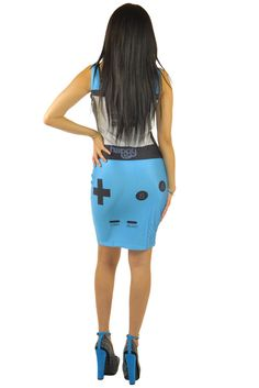 Game Over Light Blue Dress | Sexyback Boutique