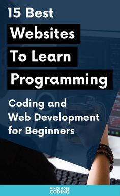 Are you wondering where to start learning how to code? Check out these great beginner-level online coding courses to learn programming and web development from scratch. Find free courses, tutorials, and guides and coding resources to get started today! Online Coding Courses, Learn Coding Online, Best Online Courses, Free Courses, Free Online Programming Courses, Learn Computer Science, Computer Coding, Learn Programming, Computer Programming