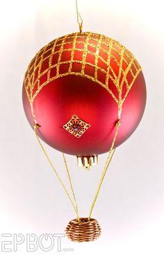 Ёлочные игрушки - воздушные шары (2Diy) / Новогодний интерьер / ВТОРАЯ УЛИЦА