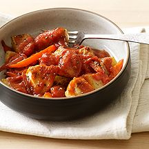 Italian Style Chicken with Potatoes and Peppers