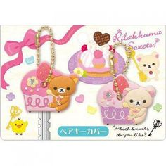 Rilakkuma Which Sweets Key Cover.