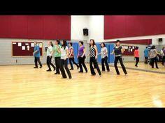Sadie's Dress - Line Dance (Dance & Teach in English & 中文) - YouTube