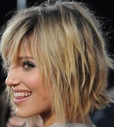 Bob Haircuts For Fine Hair with the shag look
