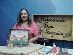 Programa Artesanato Sem Segredo (11/07/16) - Bandeja Decorada - YouTube