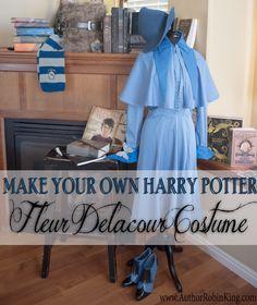 Harry Potter Beauxbatons Fleur Delacour Costume