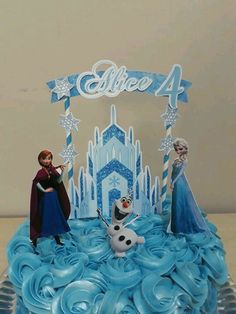 1 million+ Stunning Free Images to Use Anywhere Frozen Birthday Theme, Frozen Party, Frozen Cake Topper, Cake Toppers, 5th Birthday Cake, Birthday Parties, Eid Cake, Frozen Free, Troll Party