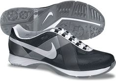 Nike Ladies Lunar Summer Lite Golf Shoes - Black/White