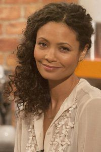 30 stylish curly hairstyles we love! Thandie Newton, curls, curly hair, natural hair, celebrity hairstyles, celebrity curly hair, hair cuts