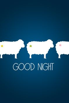 good night sheep sleep