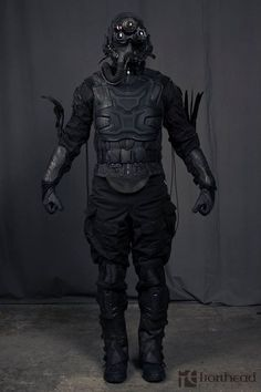 iron head studio | Sci-fi armor. | Pinterest