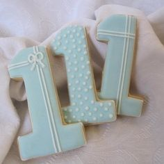 Sweet n Pretty Number Cookies