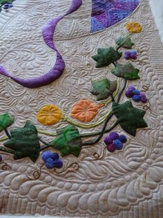 !great quilting and appliqué