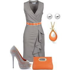 A fashion look from May 2013 featuring KAOS dresses, MICHAEL Michael Kors clutches and Elie Tahari necklaces. Browse and shop related looks.