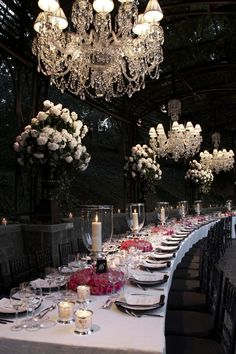 Festa da Ralph Lauren... / Tablescape Ralph Lauren's 40th Anniversary Party,,,