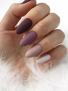 20 Trending Winter Nail Colors & Design Ideas for 2019 – TheTrendSpotter 20 Trending Winter Nail Colors & Design Ideas for 2019 – TheTrendSpotter,Nails! 20 Trending Winter Nail Colors & Design Ideas for 2019 – TheTrendSpotter Cute Acrylic Nails, Cute Nails, My Nails, Gradient Nails, Dark Gel Nails, Nagellack Design, Nagellack Trends, Colorful Nail Designs, Simple Nail Designs