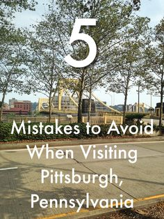 Planning a visit to Pittsburgh, Pennsylvania? There are a few things you should avoid so your trip doesn't get spoiled. But don't be fooled, there are loads of fun things to do in this great city as well. Visit Pittsburgh, Pittsburgh City, Pittsburgh Restaurants, Beautiful Places To Travel, Cool Places To Visit, Weekend Trips, Day Trips, Pittsburg Pennsylvania, Stuff To Do