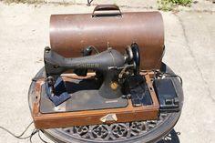 1851 to 1951 singer sewing machine | Singer Sewing Machine Vintage 1951 Centennial Model 128 Works