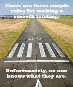 Any ideas? #aviationhumor #anylandingyoucanwalkawayfromisagoodone #evenbetterifyoucanusetheplaneagain #smoothlanding #wednesdaywisdom #flyingisahabit