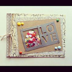 LOVE card by jenkinkade at Studio Calico