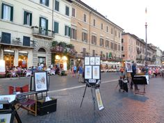 Piazza Navona, Roma - Italia