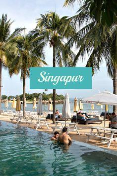 Tanjong Beach Club, Sentosa Island / Artikel zu Singapur: 10 Highlights