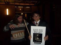 Make a moving Azkaban Wanted poster