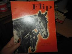 1973 Flip by Wesley Dennis Children's Horse Scholastic Book Services Vintage