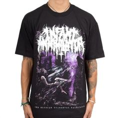 Slayer No Sanctuary Skull Tank Black T Shirt New Official Band Merch