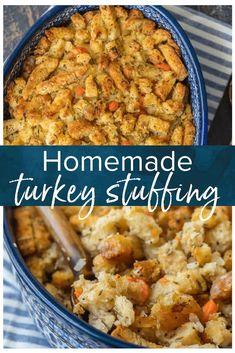 Turkey Stuffing Recipe - Homemade Stuffing Recipe {VIDEO}