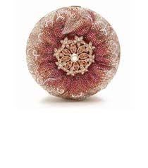 Judith Leiber Zinnia Flower Novelty Clutch (=)