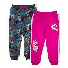 30c4390e18d9 My Little Pony - Side Stripe and Printed Joggers, 2-Pack (Little Girls) -  Walmart.com