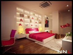 pink teen girl bedroom ideas This is abs. perfect.! def room