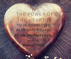 Opening your heart chakra allows you to experience your connection to who are at the deepest level of your being! Ekhart Tolle, Affirmations, Power Of Now, Heart Chakra, Spiritual Awakening, Love And Light, Inspire Me, Life Lessons, Positive Quotes
