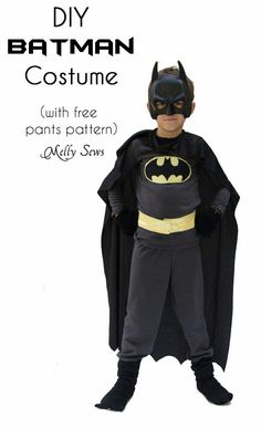 Image result for homemade batman costume toddler
