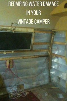 Read tips on restoring and remodeling your vintage camper trailer. Get ideas on how to go from glamper to camper. Check out our 1963 Shasta Compact glamper camper. Vintage Camper Redo, Camping Vintage, Vintage Camper Interior, Rv Interior, Vintage Rv, Trailer Interior, Interior Ideas, Vintage Trailer Decor, Trailers Camping