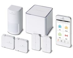 12. iSmart Alarm  This is another automated home security system that can be customized with real time camera surveillance, contact sensors, and motion detectors. Build your own home security system at the iSmart website.