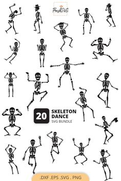 Dance Silhouette, Silhouette Cameo Files, Silhouette Design, Skeleton Dance, Stencils For Wood Signs, Thing 1, Group Boards, Clipart, Cricut Design