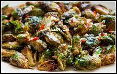 Spruiten met spaanse peper, knoflook en mosterd - Slank4u2 Paleo, Keto, Snack Recipes, Snacks, Sprouts, Meals, Fresh, Vegetables, Food