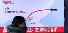 Corea del Norte dispara cuatro misiles balísticos...